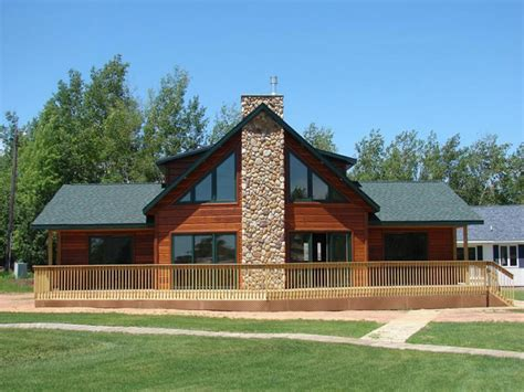 Chalet Manufactured Home With Loft Cape Chalet Modular