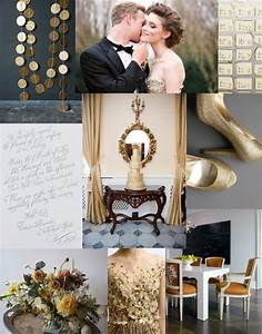 A Gold & Grey Gathering - Polka Dot Bride