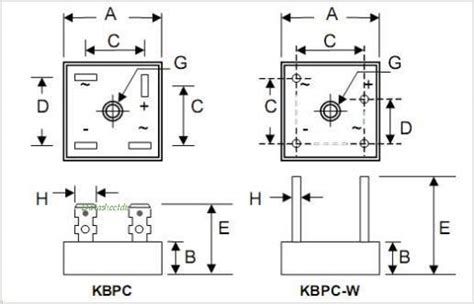 Kbpc Bridge Rectifier Wiring Diagram Further Pont