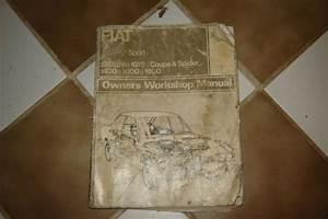Buy Fiat 500 Giardiniera 120 F Factory Body Parts Manual