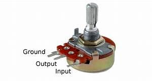 Potentiometer Wiring Connection Diagram - Wiring Diagram
