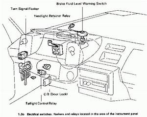 2004 Toyota Corolla Fuse Box Diagram Manual