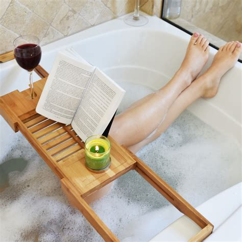 teak wood bathtub caddy bathroom outstanding teak bathtub caddy for modern