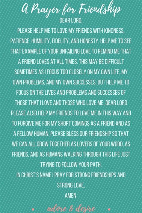 prayer  friendship power  prayer prayer