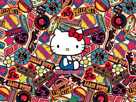bow cute  kitty anime  kitty hd desktop wallpaper