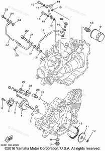 Yamaha Atv 2002 Oem Parts Diagram For Oil Pump