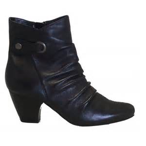 womens boots wide fit uk lotus boston wide fit leather ankle boots lotus from charles clinkard uk