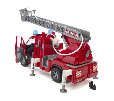bruder fire truck bruder mb sprinter fire engine with ladder water pump