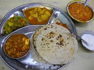 Indian Food Images Thali Menu Calori Chart Picture