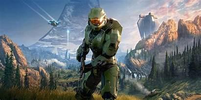 Halo 4k Infinite Wallpapers Backgrounds Kolpaper