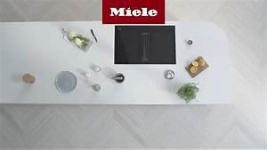 Plaque Induction Avec Hotte Intégrée Miele : table de cuisson avec hotte int gr e miele youtube ~ Voncanada.com Idées de Décoration