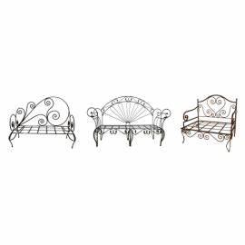 Meridienne Fer Forgé : banquette fer forge canape salon jardin meridienne sofa fauteuil exterieur meubleethnic ~ Teatrodelosmanantiales.com Idées de Décoration