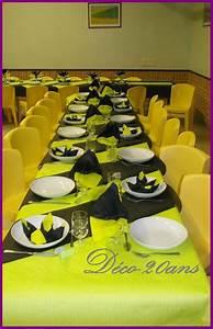 Deco Table Anniversaire 60 Ans : idee decoration salle 20 ans ~ Dallasstarsshop.com Idées de Décoration