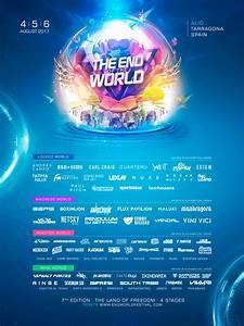Cartel oficial de The End of the World Festival 2017