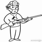 Fallout Coloring Pages Shotgun Surgeon Perk Vegas Vault Boy Perks Printable Hunting Template Guns Fandom Wikia Wiki Getcolorings Fnv Gamepedia sketch template