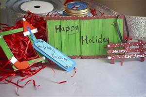Christmas Crafts With Popsicle Sticks  With Pictures