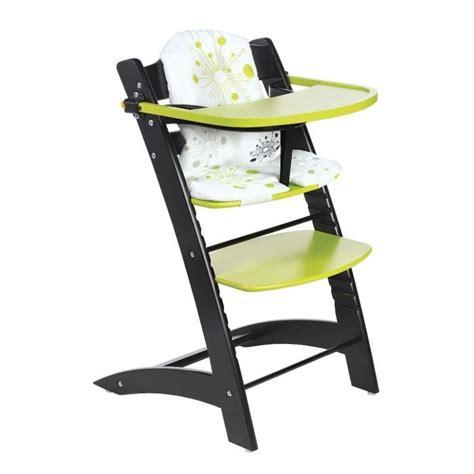 chaise haute évolutive badabulle badabulle chaise haute evolutive noir anis noir et anis