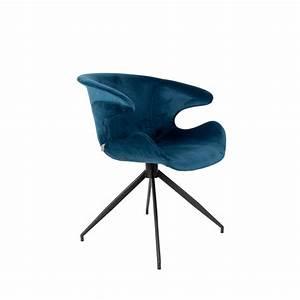 Chaise Velours Design : fauteuil velours design mia zuiver drawer ~ Teatrodelosmanantiales.com Idées de Décoration