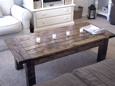 woodwork building coffee table pdf plans