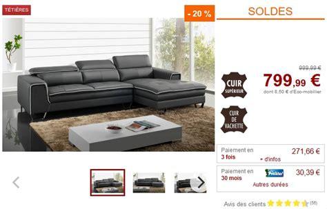 vente unique canapé angle soldes canapé vente unique canapé d 39 angle oxygene en cuir