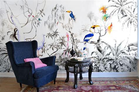 pablo piatti tropical birds wallpaper mural google