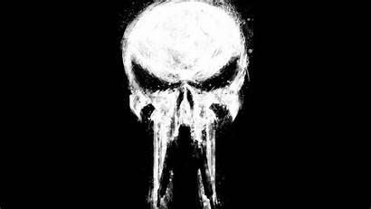 Punisher 4k Wallpapers Paint Ultra Marvel Comics
