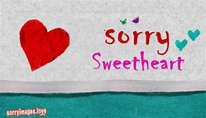 Sorry Wallpapers For Love - wallpaper hd