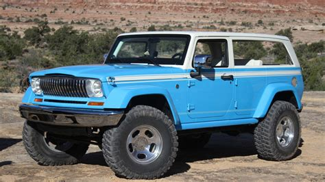 jeep chief truck jeep chief moab easter jeep safari photo gallery autoblog