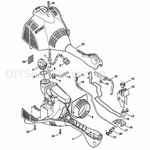 Stihl Ht 56c Pole Pruner  Ht56c  Parts Diagram  Engine Housing