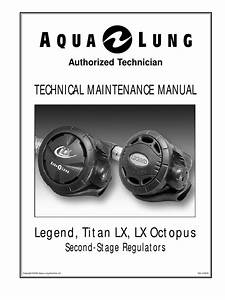 Aqualung Titan Lx Repair Manual