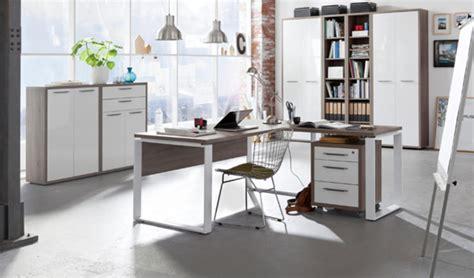 bureau basika bureau 140 ufficio chene sonoma fonce blanc