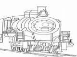 Steam Trains Drawing Coloring Engine Getdrawings sketch template