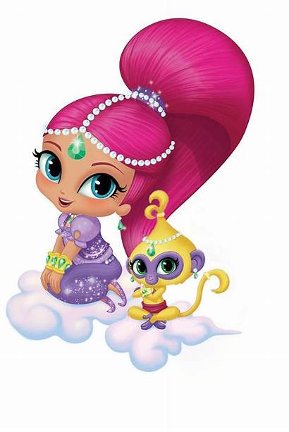 Shimmer Shine Characters Character Birthday Cut Games