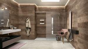 Holz Im Bad : wandverkleidung holz badezimmer ~ Lizthompson.info Haus und Dekorationen