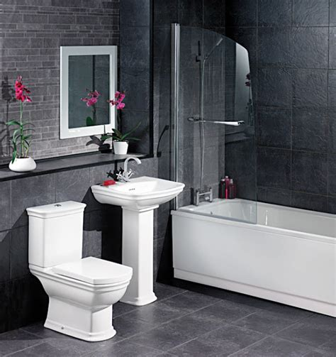 black and grey bathroom ideas white and black bathroom decorating ideas 2017