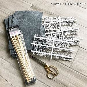 diy felt letter board With diy felt letter board