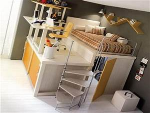 teen bunk beds cool kids bunk beds more manageable in With beautiful bunk bed 4 teens