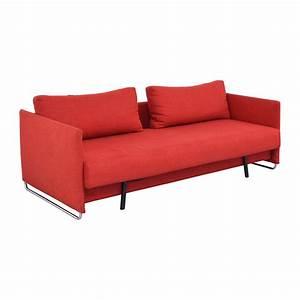Tandom red sleeper sofa refil sofa for Red sectional sofa with sleeper