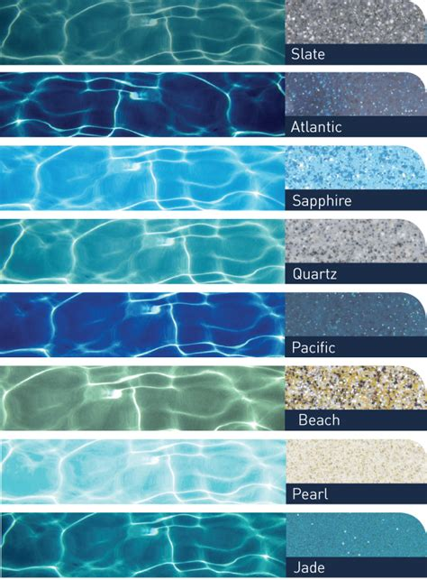 pool color pool colours compass pools