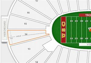 Coliseum Seating Chart Rams Rams Usc Los Angeles Memorial Coliseum Seating Chart