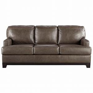 Ashley signature design derwood 8800339 contemporary for Ashley leather sofa