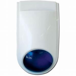 W24siren  Compact External Siren With Strobe