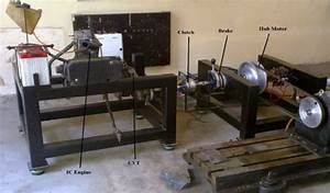 Experimental Setup For Low Cost Hybrid Propulsion With