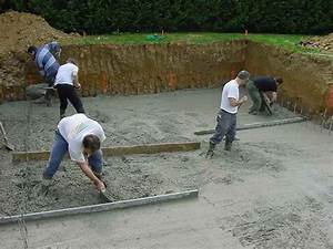 piscine hors sol beton aspect bois 3 construire sa With construire soi meme sa piscine