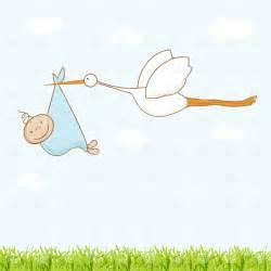 Baby Stork Clip Art