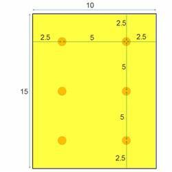 Recessed lighting spacing placement calculator