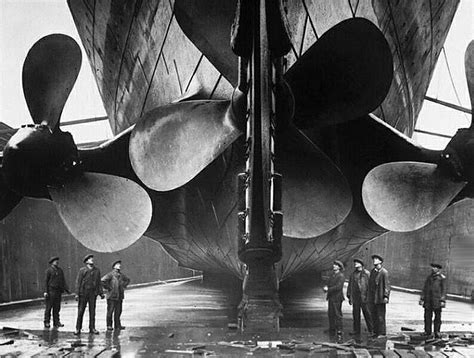 Britannic Sinking In Real Time by Titanic Station Propellers