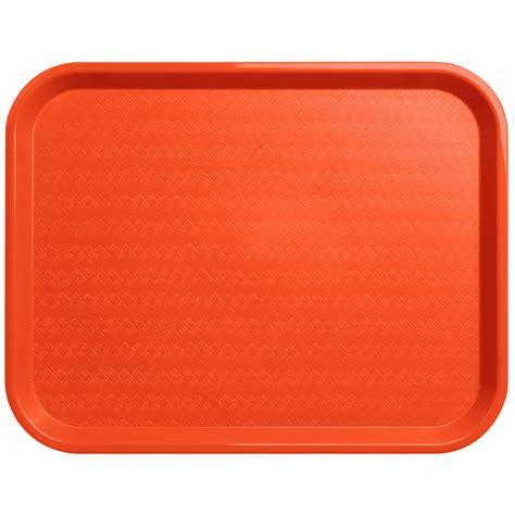 carlisle ct141824 cafe 14 quot x 18 quot orange standard plastic