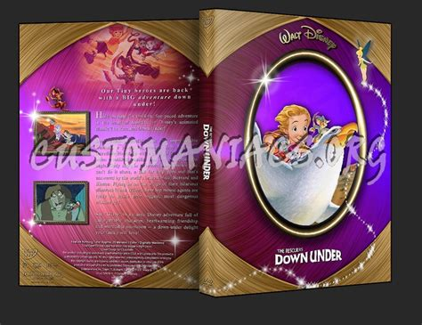 The Rescuers Down Under Dvd Cover