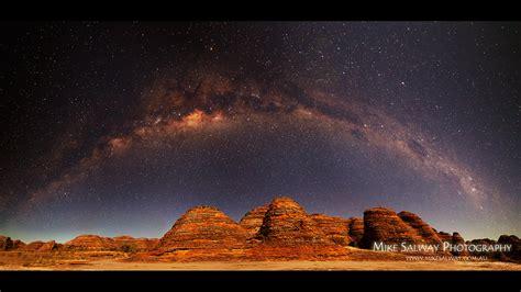 Astrophoto Milky Way Over Australia Bungle Rocks